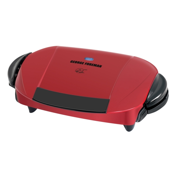 "George Foreman GRP0004R 5 Serving Removable Plate Grill 72""nohtin"