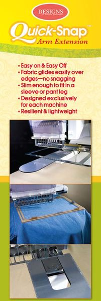 Designs Machine Embroidery QSAE1001 Quick Snap Arm Extension