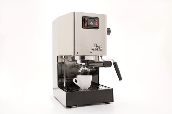 Gaggia 14101 Classic Espresso Maker Coffee Machine, Frothing Wand, Tamper, Scoop, Instruction CDnohtin