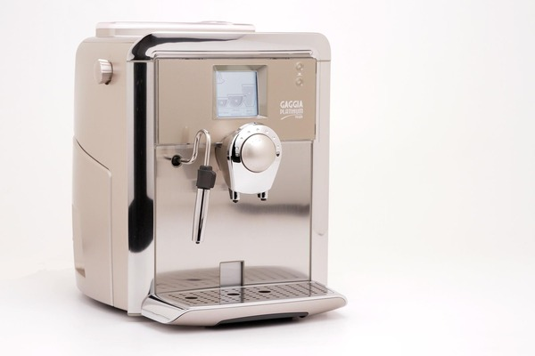 Gaggia 90500 Platinum Vision Espresso Plus Cappuccino Maker Coffee Machine 1300W, Milk Island Frother, SS Boiler 57oz 15Bar, DigitalLCD, CupWarm, 21Lbnohtin