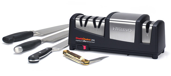 Chef Choice Hybrid Angle Select 15/20° Knife Sharpener EdgeCraft USAnohtin