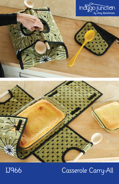 Indygo Junction Casserole Carry-All Sewing Patternnohtin