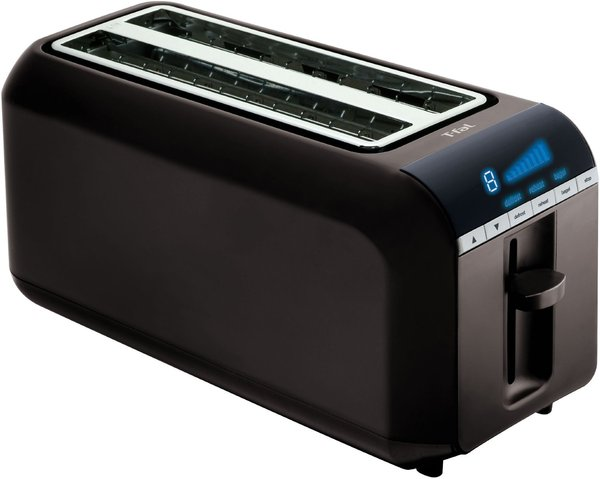 T-FAL                                     TT6802002 Digital 4 slice Toaster, Black