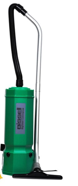 "Bissell BG1006 6Qt Backpack Hepa Vacuum Cleaner 22"" 8Tools 50´Cord 10Lbnohtin"