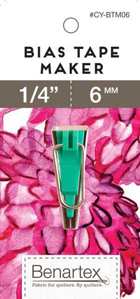 "Benartex CY-BTM06 1/4"" 6mm Bias Tape Maker, Optional 1/2"" 3/4"" 1""nohtin"