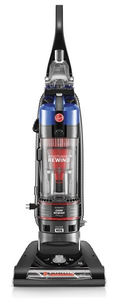 Hoover UH70825 WindTunnel 2, Cord Rewind Bagless HEPA Upright Vacuumnohtin