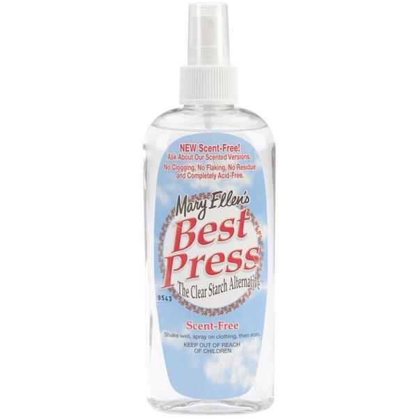Mary Ellen 6oz Best Press Spray Starch, Non Aerosol, 9 Scent Optionsnohtin