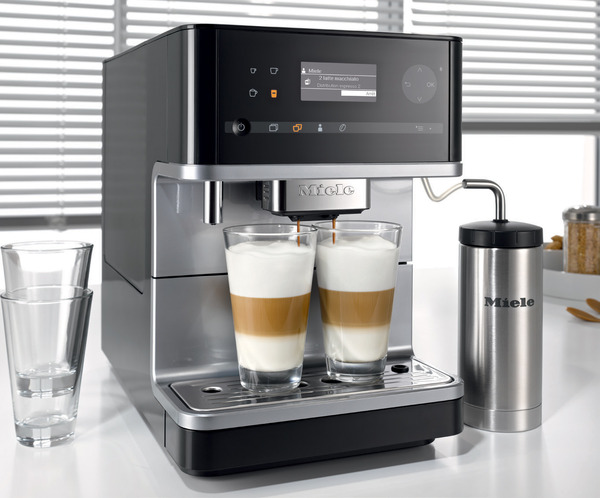 Miele CM 6310 Countertop Barista Espresso Machine Whole Bean Coffee Maker Systemnohtin