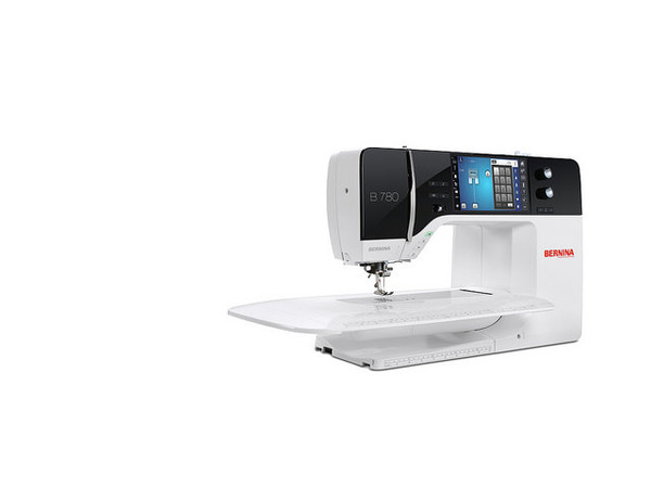 "Bernina Demo 780 Swiss 1300-Stitch Sewing Quilting Machine USB, BSR Stitch Regulator, Built In Dual Feed, B9 Hook, 12 Fonts, 10"" Armnohtin"
