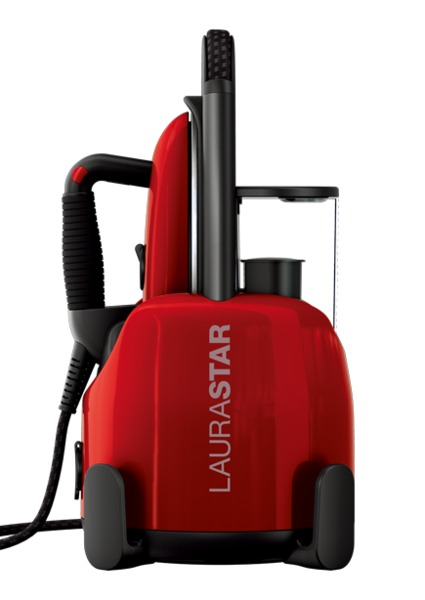 LauraStar LIft Original Red Steam Generator Iron Station, 2200W Total, 3.5 Bar Pressure, 3 Minutes to Heat Up, 10Min to Auto Offnohtin