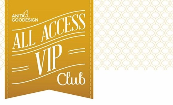 Anita Goodesigns 1Yr Full VIP All Access Club Membership, 9 Extras! Receive it All! 7 Collections Delivered Each Month, 12Mo 0% Finance at $116.67/Monohtin