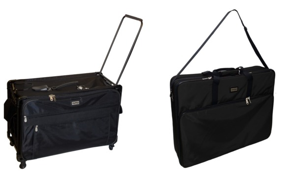 "Tutto 9228MA-2XL 28"" Largest Wheeled Trolley Roller Bag +6228EM 28"" Largest Embroidery Arm Case Tote Bagnohtin"