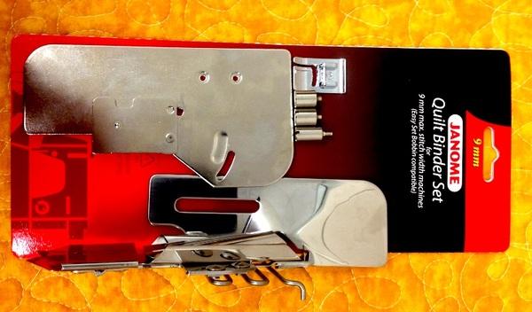 Janome 221- 202211008 Quilt Binder Set for 9mm Stitch Width Machines