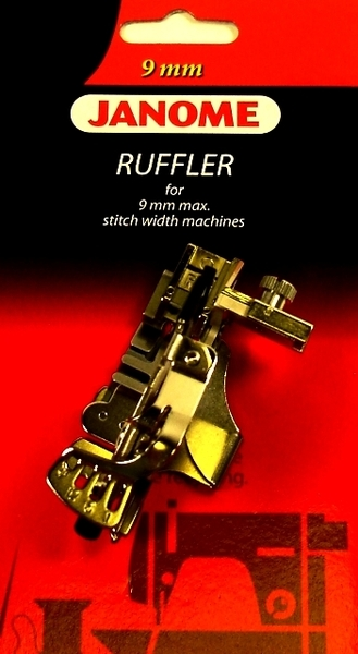 Janome 222- 202095004 Acufeed Ruffler for 9mm Zigzag Machines