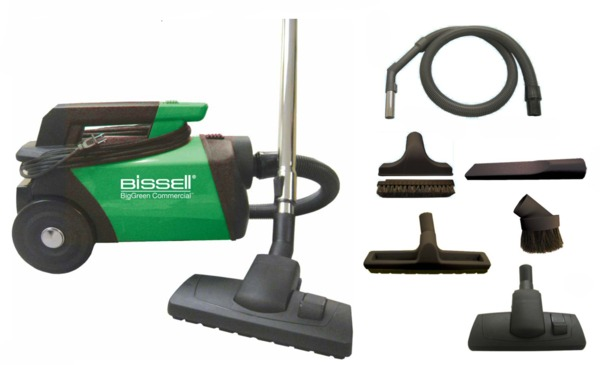 Bissell BGC3000 BigGreen Commercial Lighweight Portable Canister Vacuum Cleanernohtin