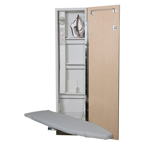 Iron-A-Way Electric Deluxe Swivel Ironing Board Center, Adjustable Height, with $50 Electrolux Frigidaire Ironnohtin
