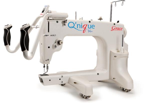 """Grace Qnique 14+ 15x9"""" Longarm Quilting Machine Head 1800SPM Stitch Regulationnohtin"""