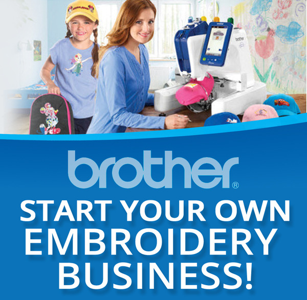 Start Your Own Embroidery Business, Saturday April 29th 10AM at the Slidell LA Storenohtin