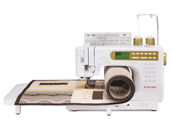"Singer S-18 400-Stitch Studio Computer Quilting and Sewing Machine (Janome 6500P) 9"" Arm, Extension Table, 2 Fonts, 14 Feet, Walking Foot, Free Motionnohtin"
