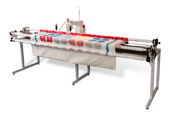 "Grace Qnique King Crib 66-110"" Metal Frame +15x9"" Qnique Longarm Quilting Machine, up to 1800 SPM, Built In Stitch Regulator +24Mo 0% Financing*nohtin"