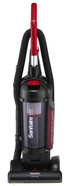 "Sanitaire SC5745 QuietClean 3.5Qt Dust Cup Bagless HEPA Upright Vacuum Cleaner, 13"" Wide Pathnohtin"