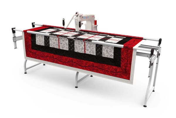 "Grace SR-2 102"" Start Right Quilting Frame +Qnique 15x9"" Longarm Machine with Stitch Length Regulator +12Mo 0% Interest Financing Available*nohtin"