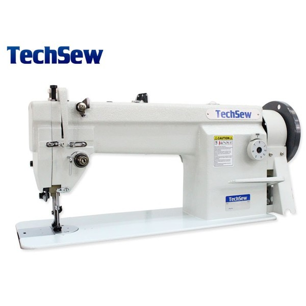 Techsew 1460 Walking Foot Compound Needle Feed Leather Upholstery Sewing Machine, Power Stand, DC Servo Motor, Lamp (Replaces TechSew 106)nohtin