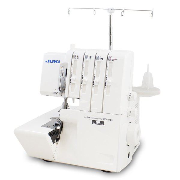 Juki MO-114D 2/3/4 Thread Serger Overlock Machine with Lay In Tensionsnohtin