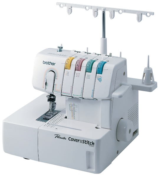Brother 2340CV Cover Hem Stitch Machine, with All 6 Feet Guide Accessories, $360 Values! Made in Taiwan, not Chinanohtin