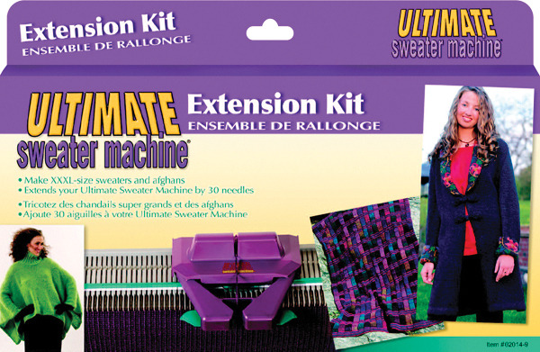 "American Bond 30 Needle EXTENSION KIT 2004, for Ultimate and Incredible Sweater Knitting Machines to 40"" Wide (Grey Color, No Longer Incredible Blue)"