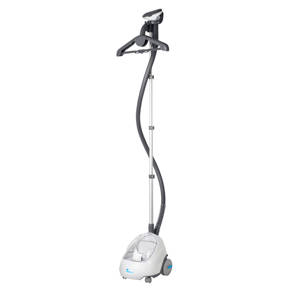 Steamfast SF520 Upright Steamer, Fabrics, Garments, Upholstery, Drapery, Foldable Hanger, Fabric Brush, Insulated Hose, Telescoping Stand, Cord Wrapnohtin