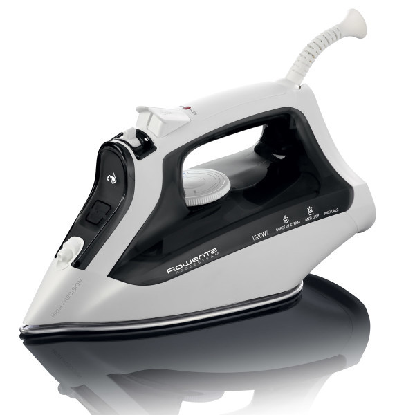 Rowenta DW2171 Access Steam Iron 1600W, 300 Microhole Stainless Steel Soleplate, Precision Tip, Variable and Vertical Steamnohtin