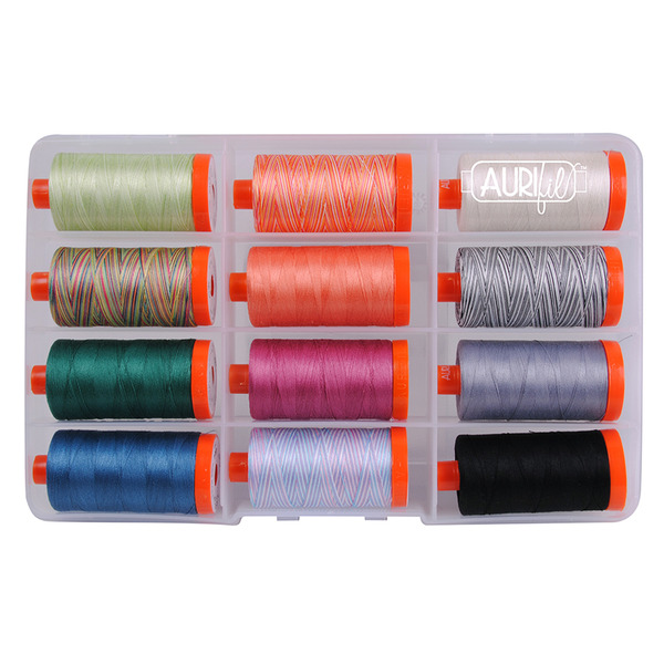 Aurifil 2017 Hoffman Challenge Thread Collection by Hoffman Fabricsnohtin