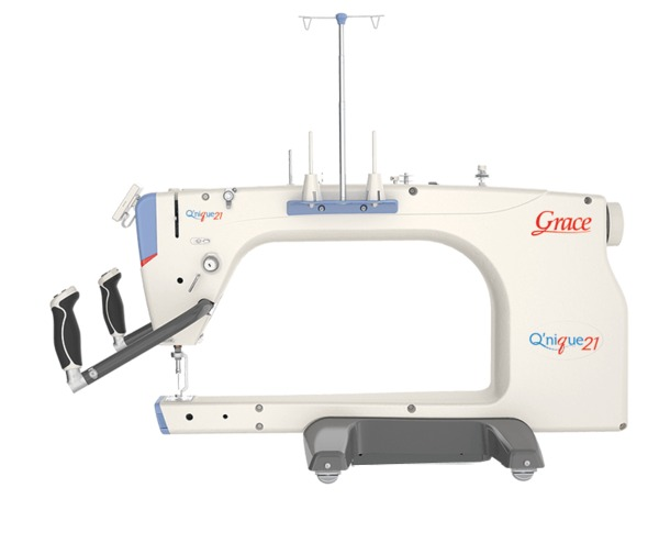 Grace Qnique21 Longarm Quilting Machine Head Only with Stitch Length Regulationnohtin