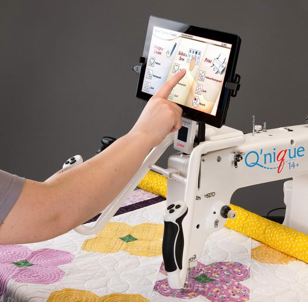 Grace QCT Quilters Creative Touch 4 Software with QuiltMotion Robotics Hardwarenohtin