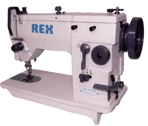 Rex REX20/53 9mm ZigZag Industrial Sewing Machine & Assembled Power Stand 1/2HP 1725RPM - FREE 100 Organ 135x5 Needlesnohtin