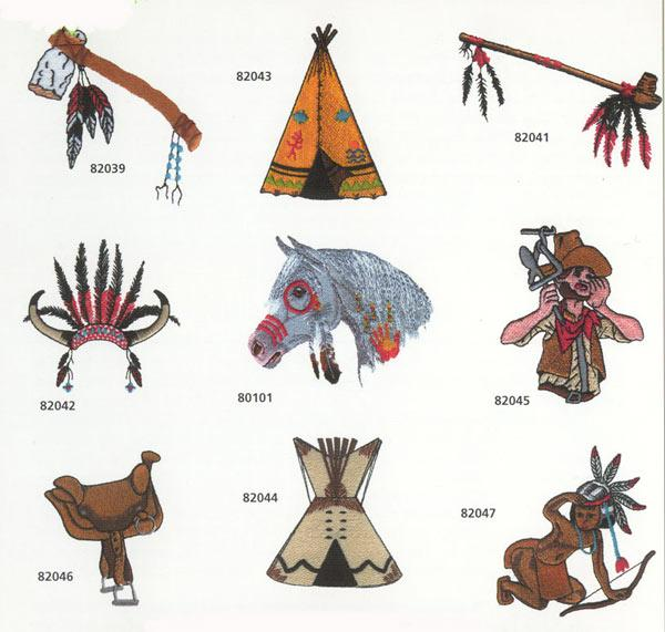 Amazing Designs 1099 Cowboys & Indians Collection 1