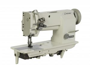 Reliable MSK-8420B Double Needle Large Bobbin Self Oiler Walking Foot Industrial Sewing Machine with Power Stand