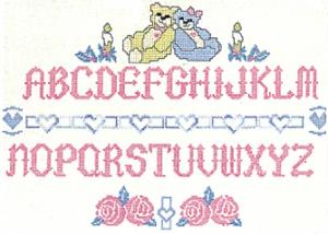 "Balboa Threadworks 66S 1.75"" CrossStitch Alphabet 4x4 Embroidery Disks"