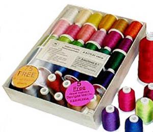 ABC Embroidery Custom Thread Packs TA-A Large Set