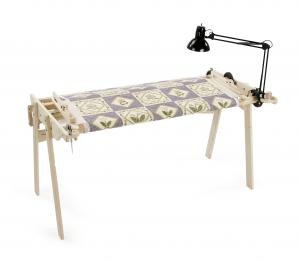 Grace A34 No Baste Hand Quilting Frame, 3 Pole, 4 Sizes (Crib, Twin, Queen & King)