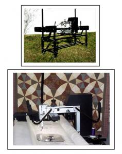 "Pennywinkle 1709 Professional 17"" Long Arm Machine Quilting System  up to a 12' Versi-frame (14' extension available)"
