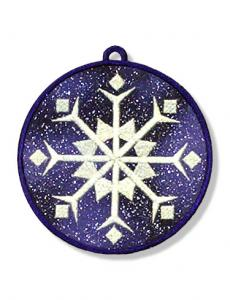 Dalco EasyStitch  Appliques Snowflakes Collection Disk