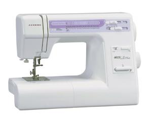 Janome 4623LE 24-Stitch Sewing Machine, Case, Drop-in Bobbin, 1-Step Buttonhole, Speed Control, Needle Stop Up, Accessories Under Top Lid USA ONLY