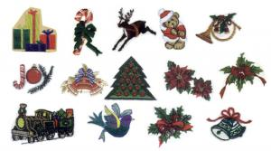 Balboa Threadworks 77Z Christmas Collection 5 5x7 Embroidery Disks