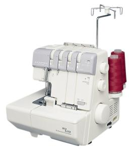 Janome 634D MyLock Overlock Serger Machine 234 Thread, Lay In Tensions, Built In Roll Hems, Self Threading Looper, Differential Feed, 5Yr Ext Warranty