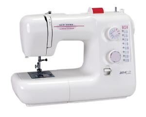 New Home (Janome) 2014/4014 LE 19-Stitch Sewing Machine, Removable Free Arm Extension, Push-Pull Clutch Release, Extra High Presser Foot Lift USA ONLY