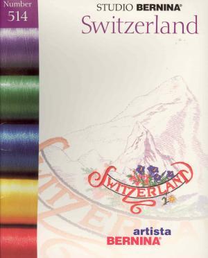 Bernina Artista 514 Switzerland Embroidery Card