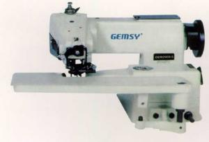 Jiasew Gemsy G2000-8 Full Size Industrial Blindstitch Machine, Knee Lift, Swing Plate, Cylinder Arm, Skip Stitch, KD Power Stand* 3000SPM, 110V & 220V