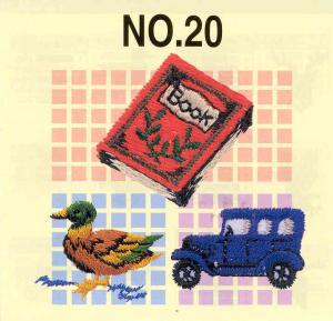 Brother No.20 Petite Designs Embroidery Card SA320